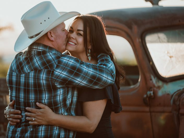 A Nurse and Firefighter's Engagement Shoot