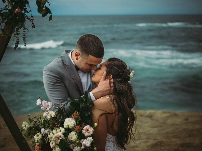 Sea Cliff Wedding in La Jolla, CA
